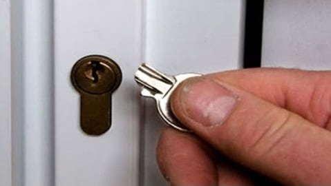 Потерялся / сломался ключ 2